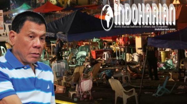 Filipina Rilis Sketsa Wajah Teroris Pelaku Pemboman Di Kampung Halaman Duterte - Indoharian | Berita Harian Indonesia Terbaru dan Terupdate