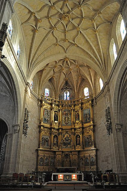 A soaring cathedral in La Rioja, Catedral de Calahorra is a stunning example of historic Spanish architecture