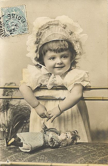 1905 Girl With Doll by ShutterlyHappy, via Flickr