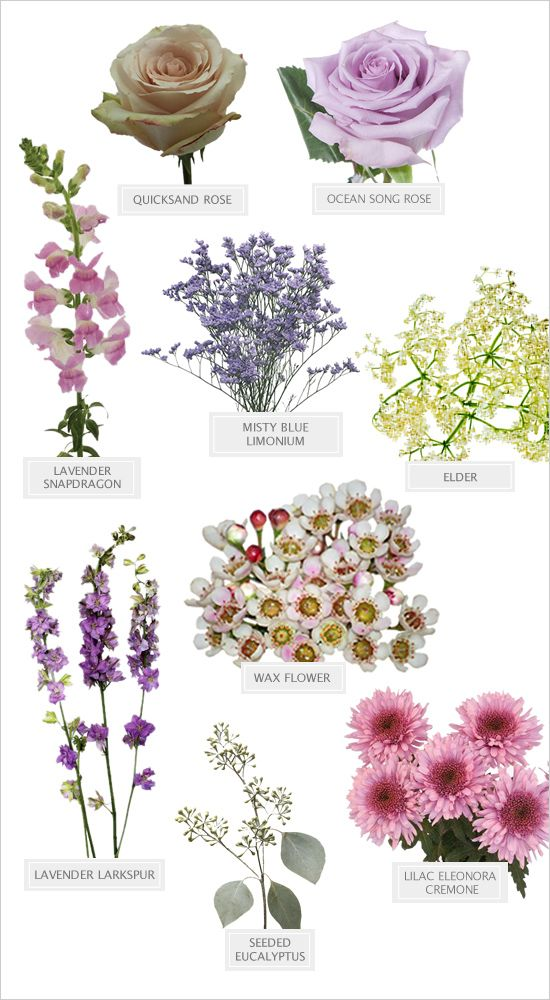 lavendercoloredbouquet