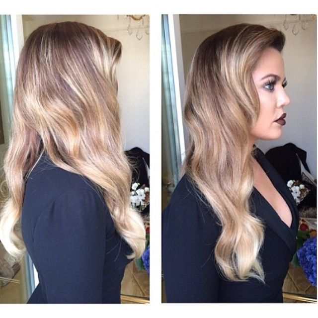 Khloe Kardashian goes full on blonde! Between the lowlights and highlights, she's got some serious dimension