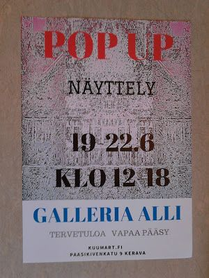 Sukkulat suihkii: POP UP 19.-22.6.2017