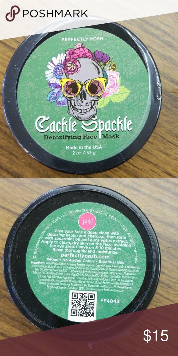 Posh Cackle Spackle Detoxifying Face Mask Posh Cackle Spackle Detoxifying Face Mask Posh Makeup
