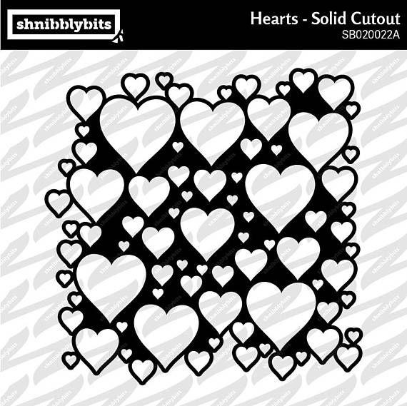 Hearts Cutout