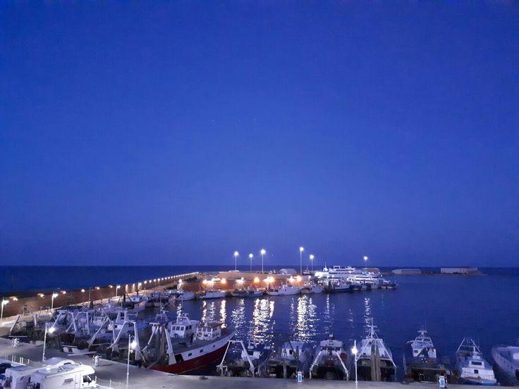 Côté italienne port de Termoli