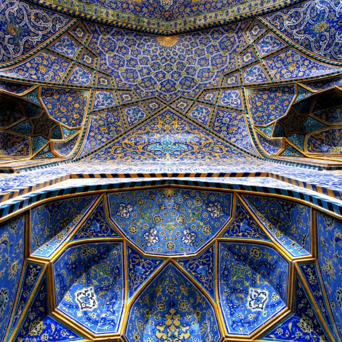 Iran knows how to build beautiful places for worship!