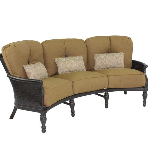Shop For Fire House Casual English Garden Crescent Sofa, And Other  Outdoor/Patio Sofas At The Fire House Casual Living Store In Charlotte, NC    Raleigh, ...