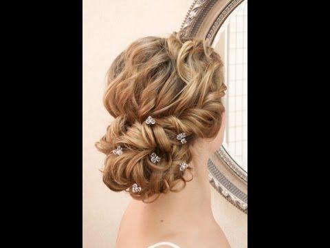 Wedding hairstyling video - romantic lowdo - YouTube