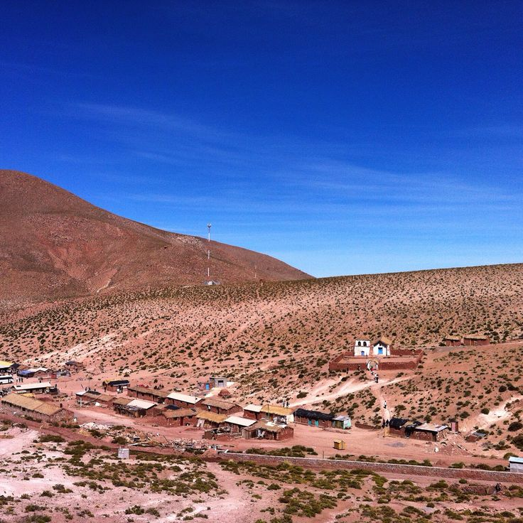 Pueblo de Machuca, San Pedro de Atacama, Chile.