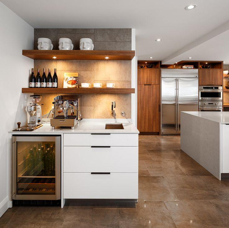 Contemporary Kitchen By Astro Design Centre Bar Area