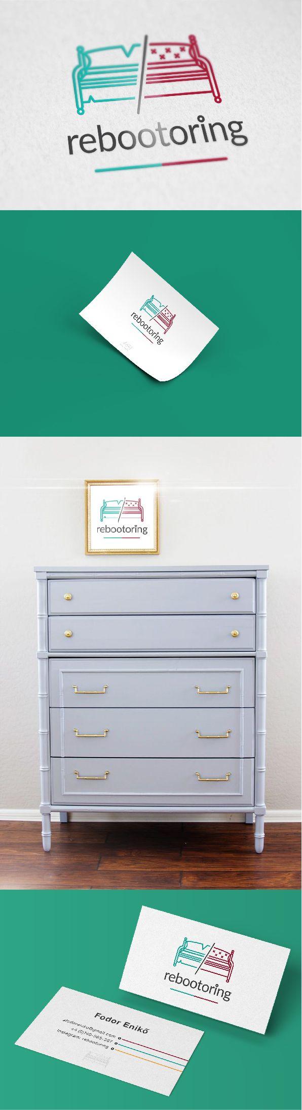 #rebootoring #logo #design #brand #green #red #coach #seat #bench #furniture #recycling