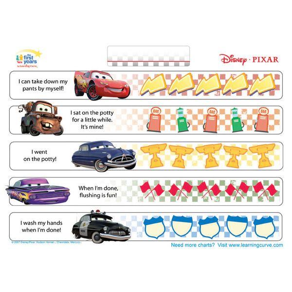 Cars Potty Training Chart