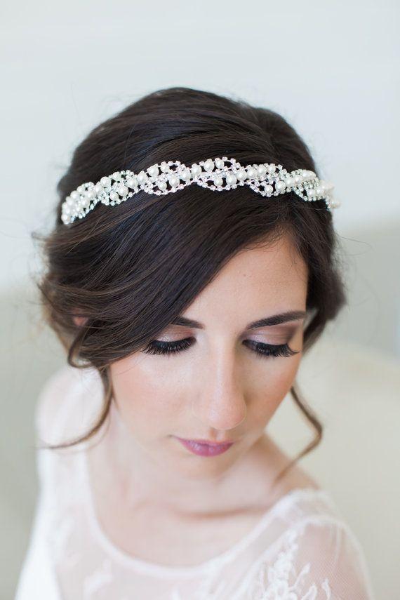 Best 25+ Bridal headbands ideas on Pinterest | Wedding ... - photo #41