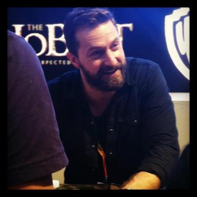 Great pics of the Hobbit cast from Comic Con  http://britsunited.blogspot.com/2012/07/richard-armitage-martin-freeman-pics.html