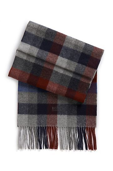 BOSS mens scarf