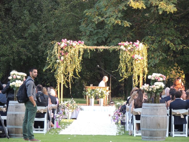 Ceremonia, Matrimonio, wedding, flores, arco de flores