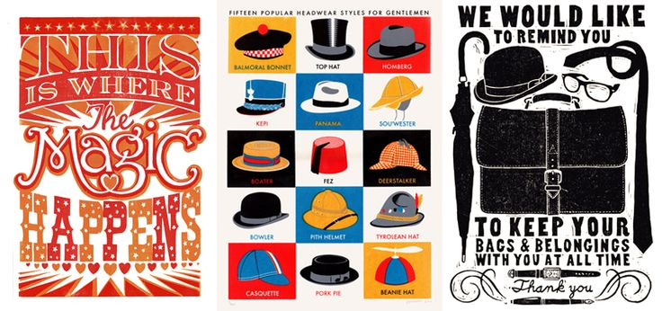 James Brown design and prints