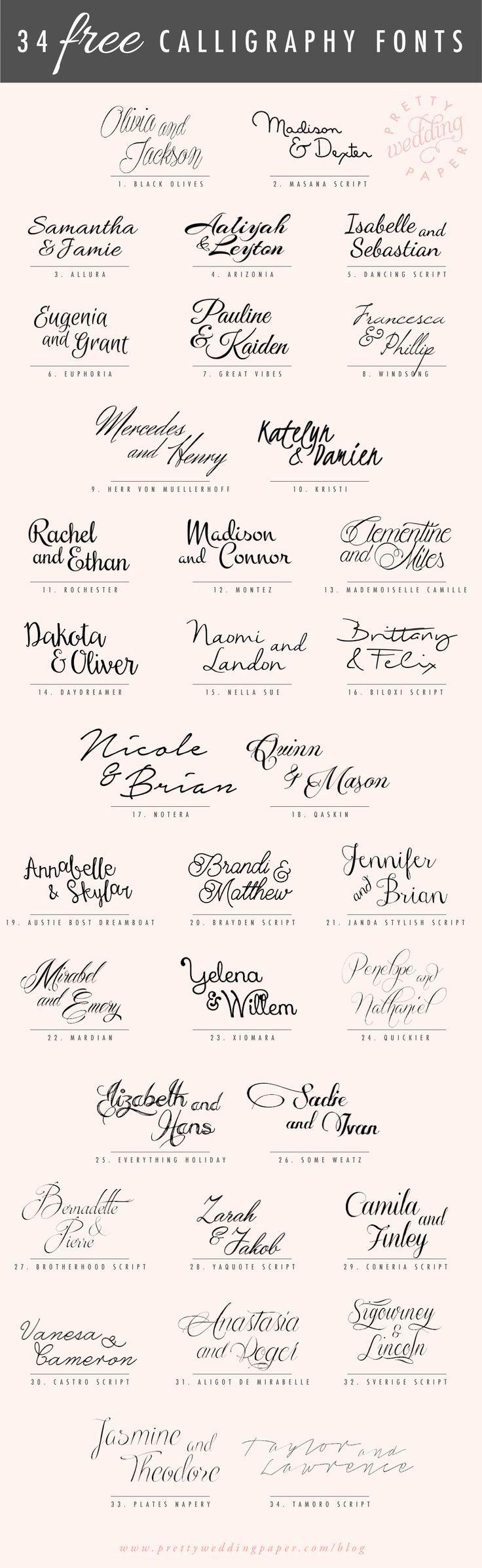 Handschriften Inspirationen