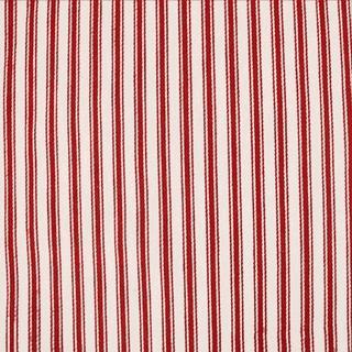 Red Ticking Stripes, Plaid fabrics, childrens fabrics