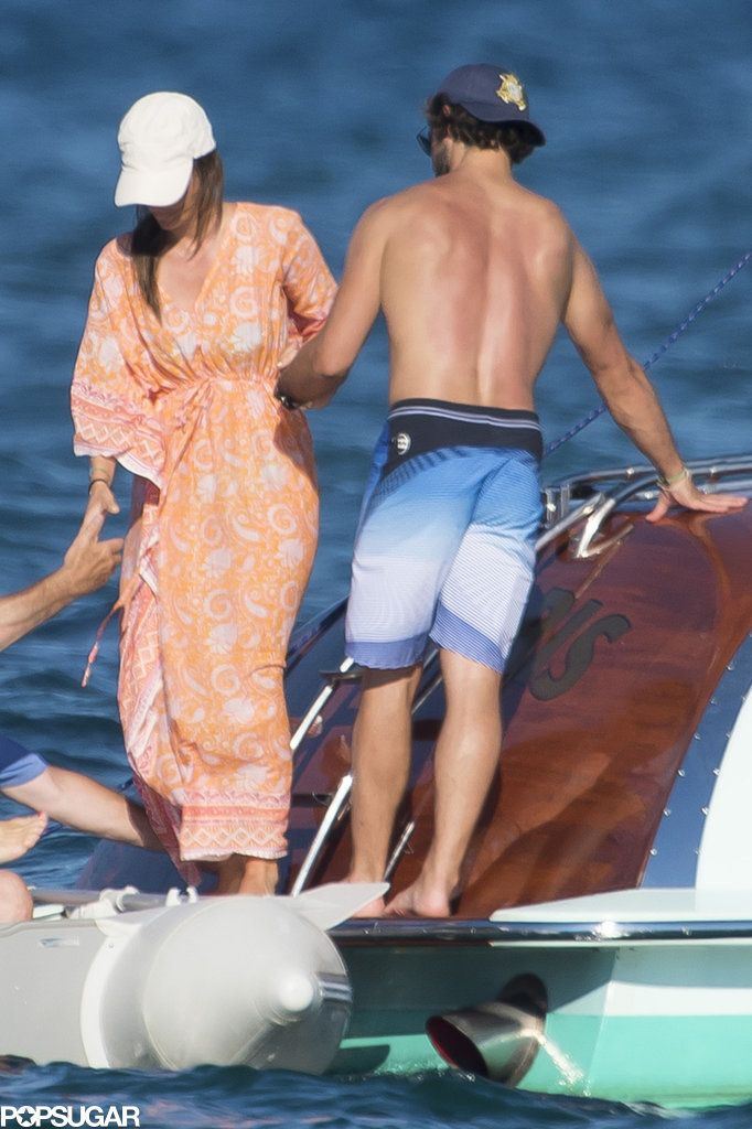 Prince Carl Philip of Sweden and Princess Sofia, summer vacation on the French Riviera