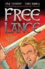 Free Lance - Paul Stewart & Chris Riddell (MSP STE). Trouble has a way of tracking Free Lance down. A knight with a lance and a horse called Jed, Free Lance stumbles into all kinds of challenging situations. These three action-packed adventures follow our hard-bitten hero as he battles dragons, saves damsels in distress, and charges headfirst into trouble.