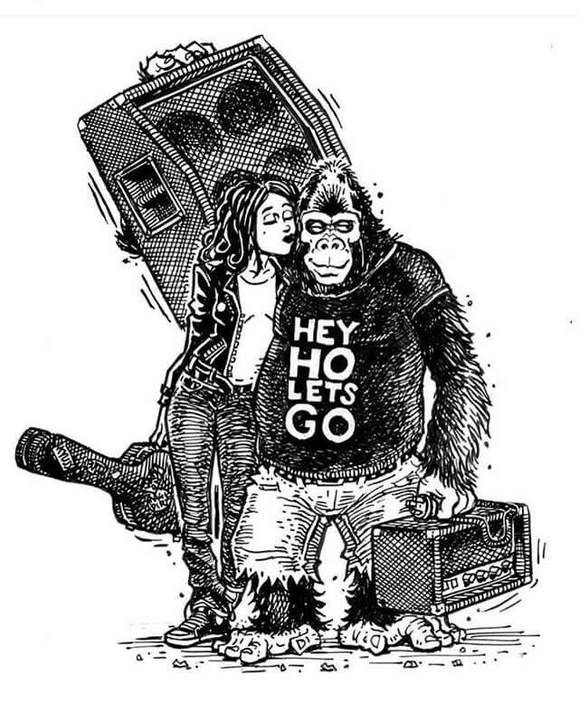 Hey Ho Lets Go...!!