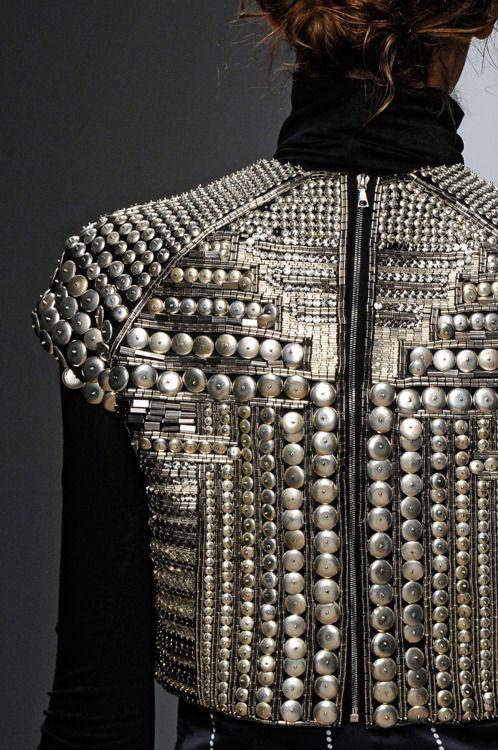 Full metal jacket: Interiors Architecture, Interiors Design, Fall 2012, Fulton Fw12, Holly Fulton, Fashion Accessories, Fulton Fall, Design Blog, Style Fashion