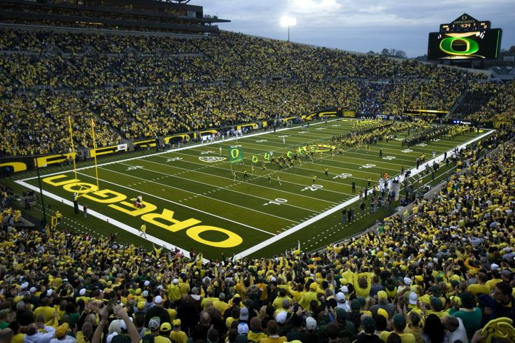 Oregon Ducks Football game