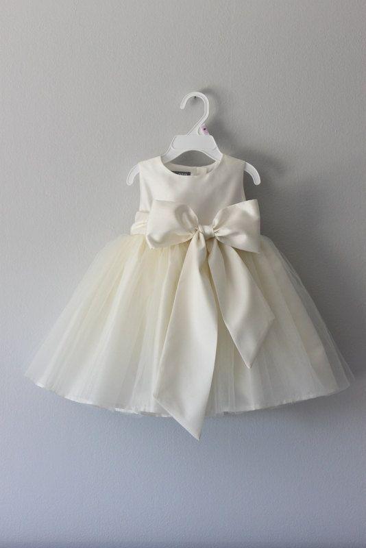 The Nancy Dress: Handmade flower girl dress, tulle dress, wedding dress, communion dress, bridesmaid dress, tutu dress