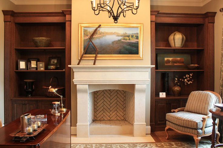 Astounding Fake Fireplace In Home Office