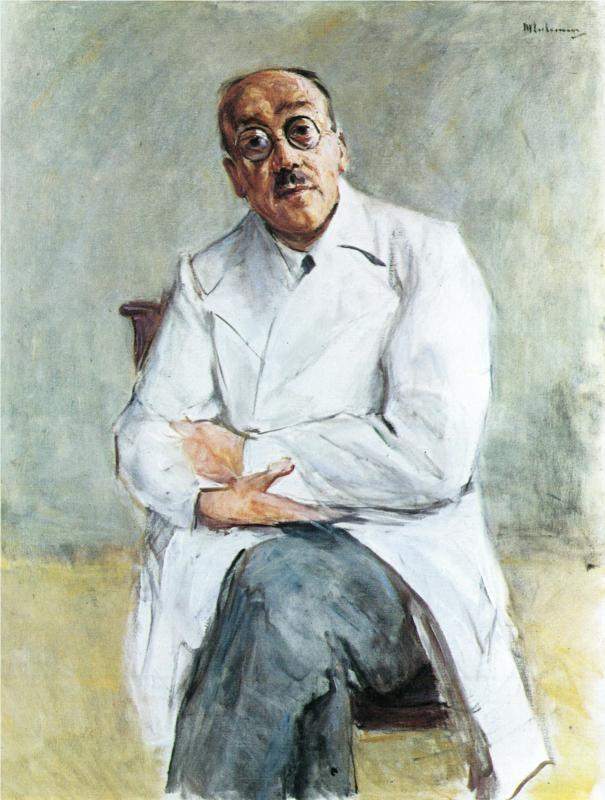 The Surgeon, Ferdinand Sauerbruch, 1932  Max Liebermann