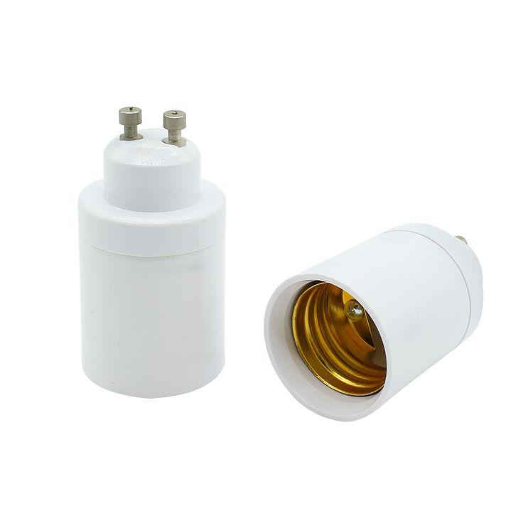 1 Pcs GU10 untuk E27 Basis LED Light Bulbs Lampbase Adapter Adaptor Socket Converter Plug Extender