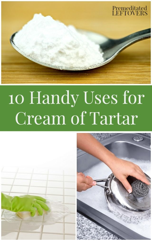 10 Handy Uses for Cream of Tartar- Here are 10 frugal ways to use cream of tartar for cleaning your home, repelling ants, removing stains, and DIY kitchen and bathroom ideas!