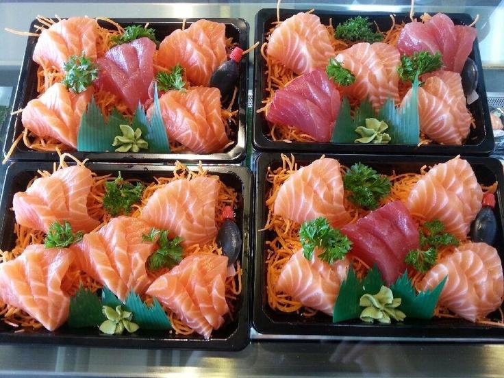 Sushi Sushi Nunawading:    ... Never comple without Sashimi, yummmm
