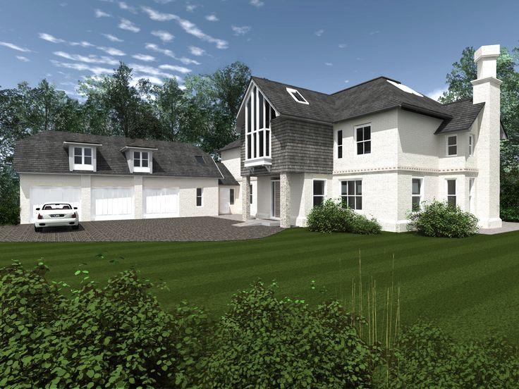 Visual for a house refurbishment for Crane & Associates