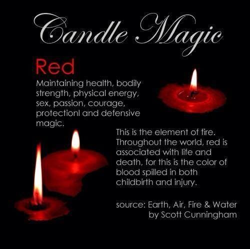 Candles: #Candle Magic ~ Red.                                                                                                                                                                                 More