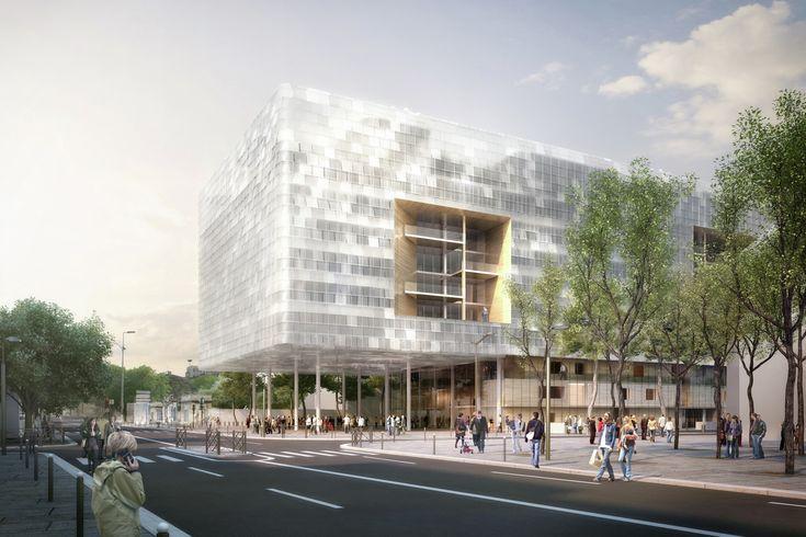 Gallery - City Municipal Office Complex / ECDM Architects - 13