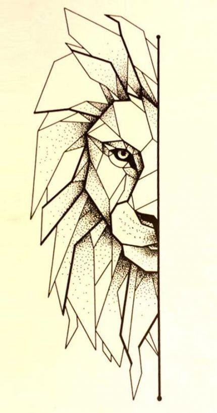 Tattoo lion line drawings 40 New ideas