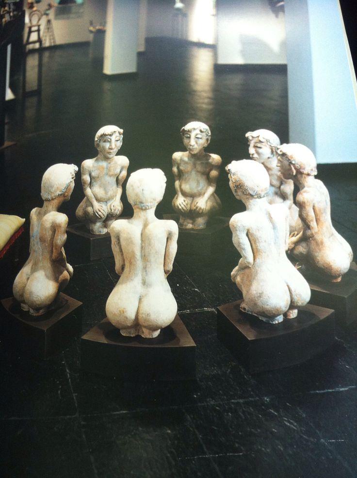 María luisa Campoy Escultura