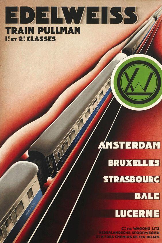 Edelweiss Pullman trein 1928