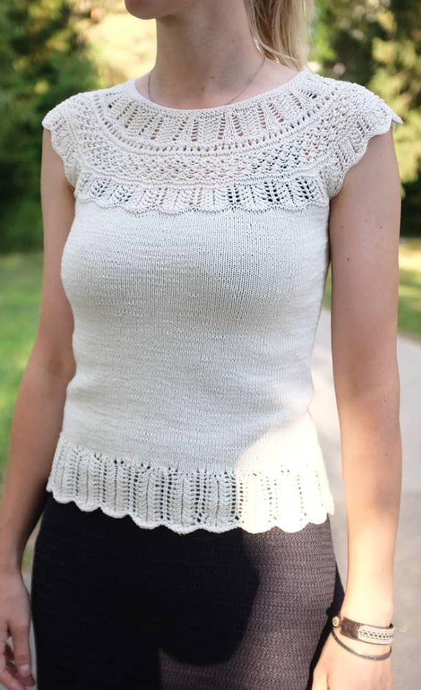 Easy And Stylish Free Crochet Tops Pattern Ideas For Summer And