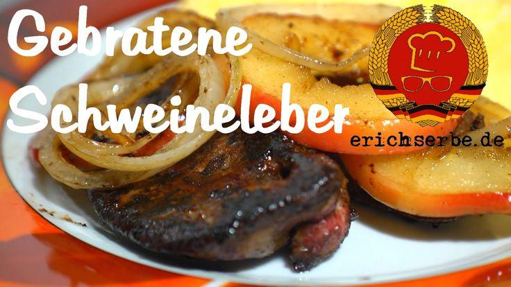 DDR Rezept: # 072 Gebratene Schweineleber (Berliner Art) - YouTube