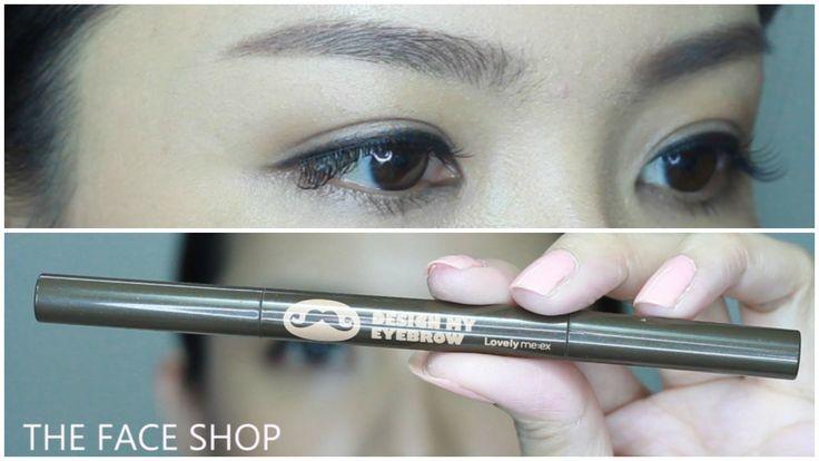 (NEW) Korean Eyebrow Tutorial Step By Step - Jasmine Tam