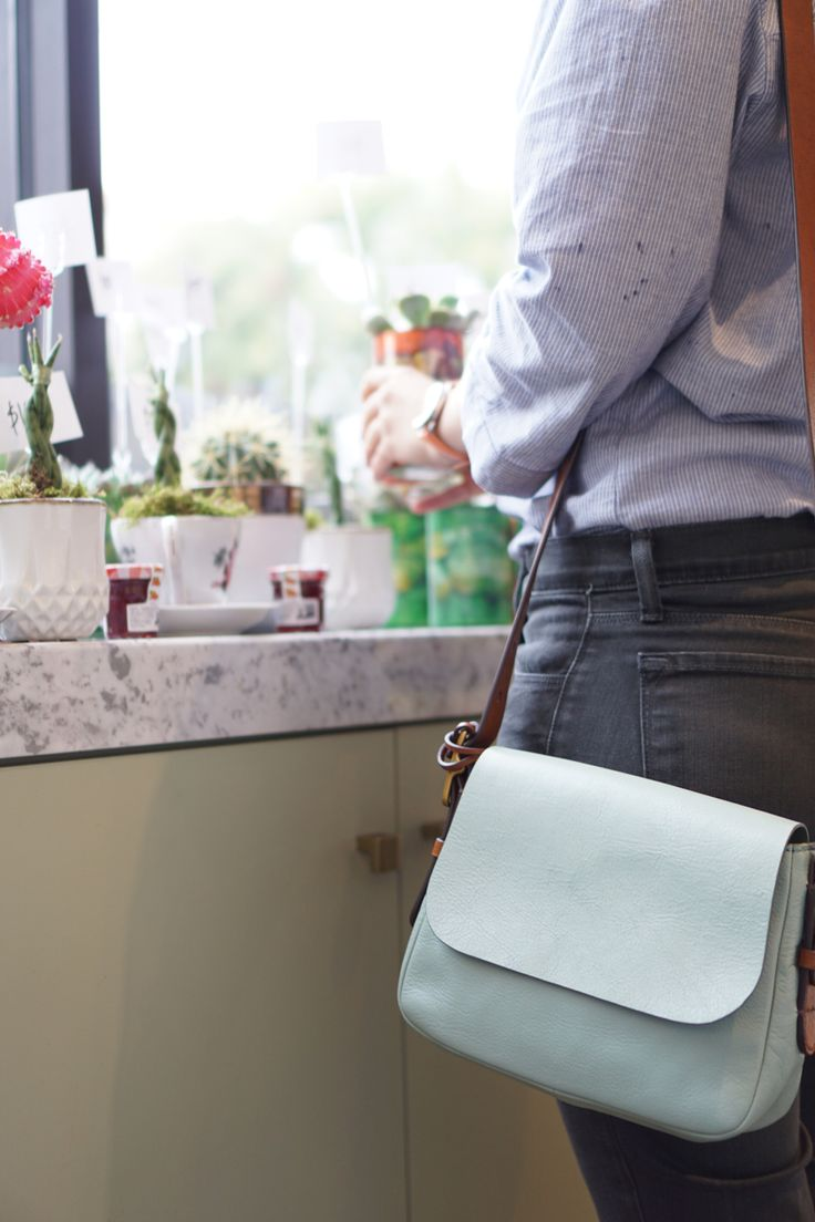The handbag we never leave behind? The functional and oh so stylish Harper Crossbody.