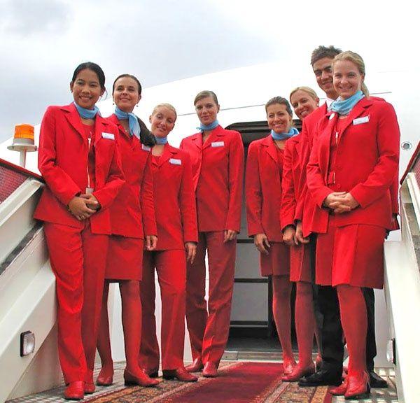 Datierung einer Stewardess