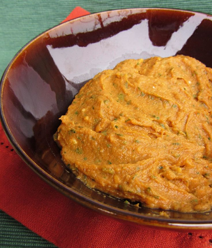 southwest sweet potato dip - so good it's tempting to eat with a spoon