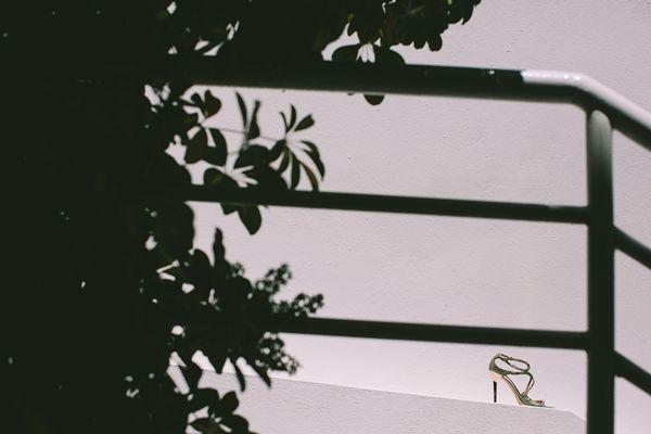 Wedding Shoes | Greek Island Wedding Inspirations