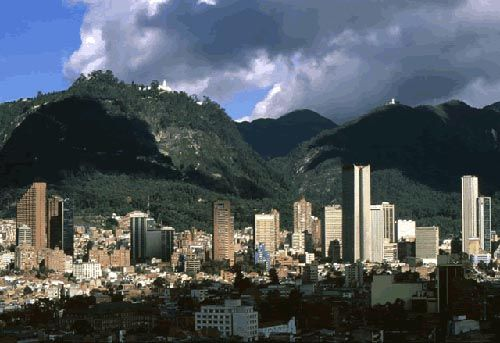 Bogota, Columbia. Summer spent here also a long time ago. They made me go everywhere with a male escort!!!