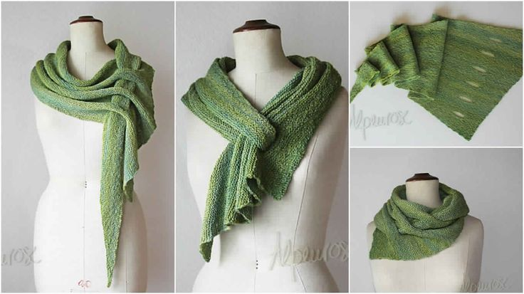 Nous avons trouvé pour vous grande écharpe avec un design créatif et qu'on a voulu partager avec vous. Commencez maintenant à tricoter et faire un autre foulard utile et très beau, parce que nous...