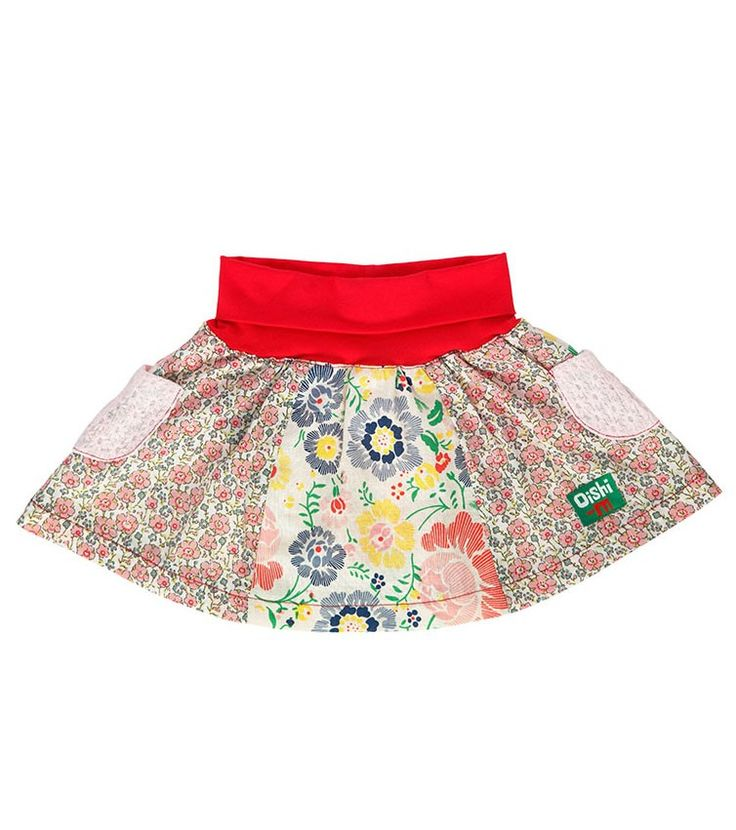 Dash Skirt, Oishi-m Clothing for kids, Spring 2015, www.oishi-m.com